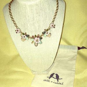 Femme Des Fleurs Collar Necklace